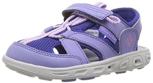 Columbia Kids Shoes - Columbia Unisex-Kids Childrens Techsun Wave Sport Sandal, Fairytale, Phantom Purple, 11 Regular US Little Kid