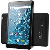 OYYU T11 10 Inch 3G Unlocked Phablet, Android 7.0 Dual SIM Card Phone Call Tablet PC, MTK8321 Quad Core 16GB ROM IPS Display 1280x800, with Dual Camera Wi-Fi GPS Bluetooth OTG Black rear