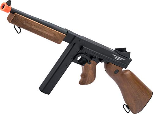 Evike Licensed Thompson M1A1 Airsoft AEG Rifle by King Arms/CYMA w/Metal Receiver & Gearbox (Package: Add Battery + Charger)
