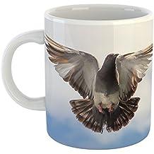Westlake Art - Coffee Cup Mug - Racing Homer - Modern Picture Photography Artwork Home Office Birthday Gift - 11oz (*9m-61f-df2)