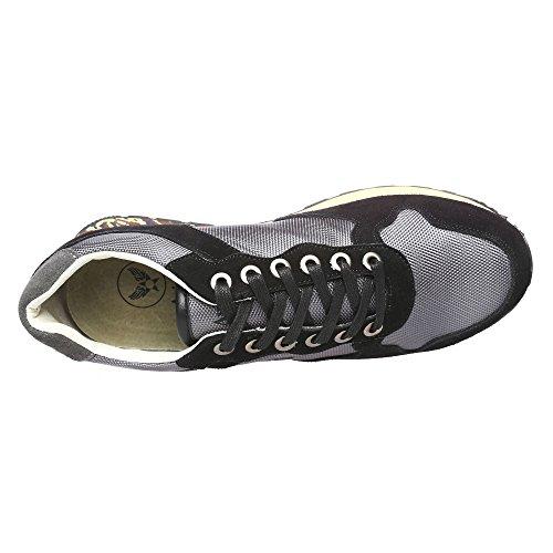 Avirex Oscuro para Sint Deporte Anton de Cuero 162 Zapatos de M y Esmonde Gris Genuino 180 Mod Tejido Suede 66 tico Hombre 4vxv7qY