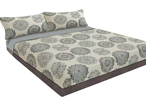 Juego de sábanas estampado (ARENA, para cama de 150x190/200): Amazon.es: Hogar