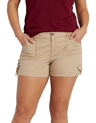 Maurices-Womens-Plus-Size-Utility-Shorts-With-Knit-Waistband-In-Khaki