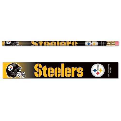 - WinCraft NFL Pittsburgh Steelers 15571041 Pencil (6 Pack)