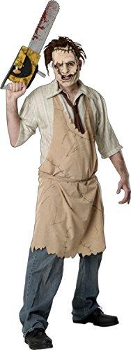Morris Costumes Men's Leatherface Costume, Standard
