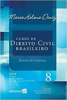 Curso de Direito Civil Brasileiro - Vol. 8 - 12ª Edição 2020: Direito de Empresa: Volume 8