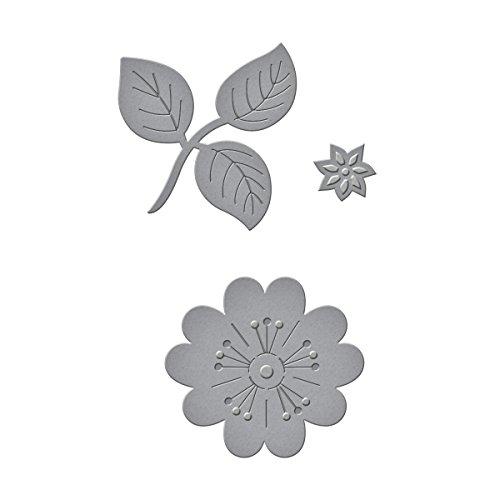 Spellbinders Die D-Lites Flowers n Stem Etched/Wafer Thin Dies