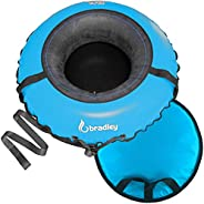 """Bradley Commercial Snow Tube for Adults and Kids   50"""" Heavy Duty Cover   Made i"""