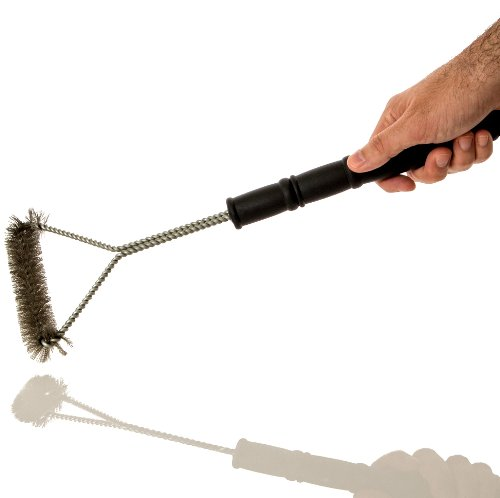 Alpha Grillers BBQ Grill Brush. Stainless Steel Bristles