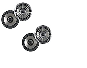 Polk Audio DB651 6.5-Inch Coaxial Speakers - 2 pairs (4 speakers)