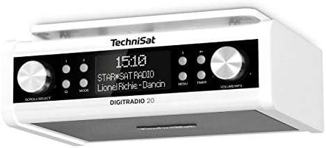 Technisat Digitradio 20 Modernes Kompaktes Dab Küchen Badezimmerradio Empfangstarkes Ukw Unterbauradio Mit Uhr Heimkino Tv Video