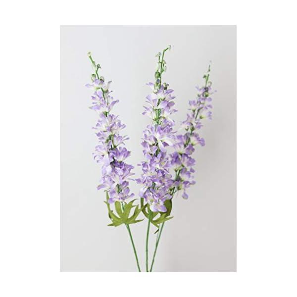 Lavender Artificial Delphinium Wildflower Bundle
