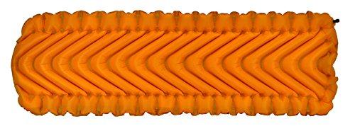Klymit Insulated Static V LITE All Season Sleeping Pad, Orange/Gray