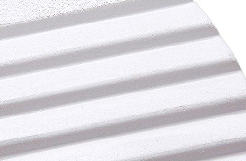 Fondo Nappa Donna Nell'estate E Spesso Alto Impermeabile Bianca Di Pantofole Sandali Aumentato Tacco Muffin Piattaforma Liuhoue pfYng66