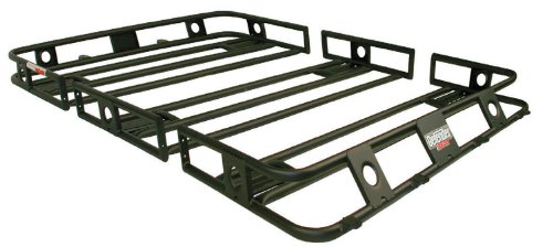 Smittybilt (45454) 4.5'' x 4.5'' x 4'' Defender Light Cage for Jeep JK by Smittybilt