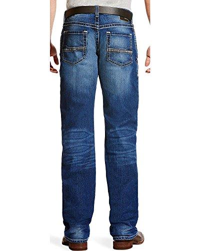 Ariat Men's M4 Dawson Low Rise Jeans Boot Cut Indigo 33W x 32L - Ariat Low Rise Jeans
