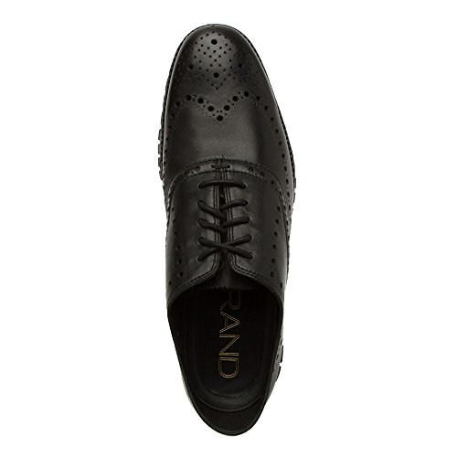 01bd102207022 Cole Haan Men s Zerogrand Wing Ox Black Glove Open Holes Leather Black  Leather Oxford 12