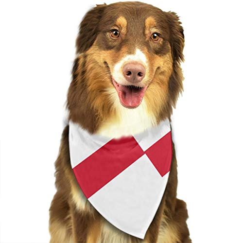 OURFASHION Originality England Flag Bandana Triangle Bibs Scarfs Accessories for Pet Cats and Puppies.Size is About 27.6x11.8 Inches (70x30cm). ()