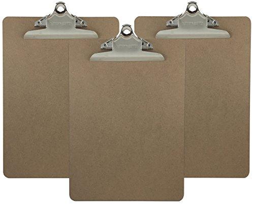 Letter Size Clipboard Standard Hardboard