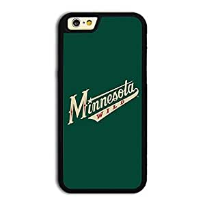 TPU iPhone 6 case protective skin back cover with NHL Minnesota Wild Team Logo 2014 Latest - 2
