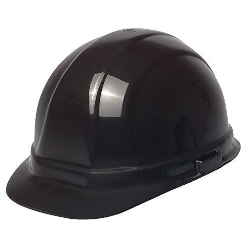 ERB 19949 Omega II Cap Style Hard Hat with Mega Ratchet, Black