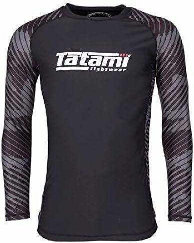 Tatami Rashguard Renegade Long Sleeve Grau Camo