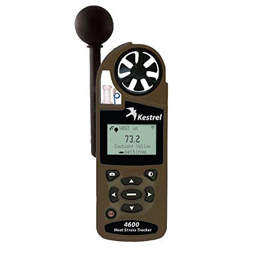 Kestrel Heat Stress Tactical Tracker w/Night Vision & Wind - Desert Tan