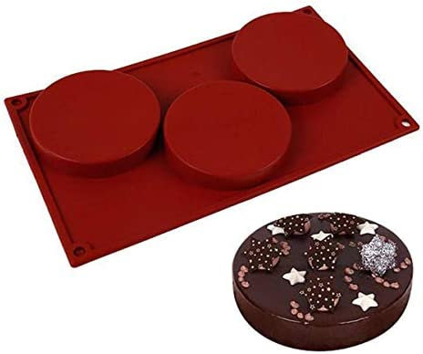 Hukai Irregular Wave Round Coaster Silicone Resin Mold Epoxy Resin Jewelry Making,Can Be Applied to DIY Different Handiwork and Jewelry