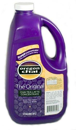 Concentrate 0.5 Gallon Bottle (Oregon Chai The Original Super Concentrate 64 oz. Bottle.)