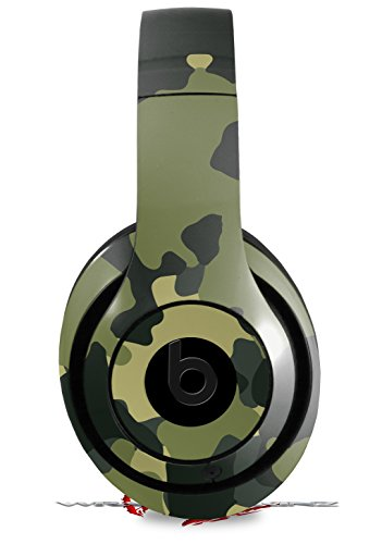 Skin Decal Wrap for Beats Studio 2 and 3 Wired and Wireless WraptorCamo Old School Camouflage Camo Army HEADPHONES NOT INCLUDED