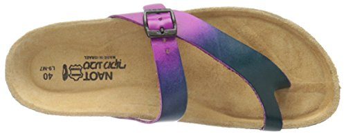 Tahoe Teal Footwear Naot Women's Purple Hand Crafted Leather w8qOEqR