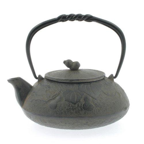 Kotobuki 480-289 Japanese Iron Tetsubin Teapot, Antique Gourd, Brown