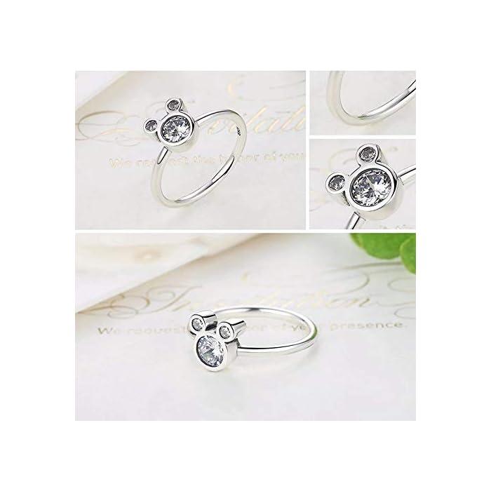 41r VY8bhVL DISEÑO – Olvide preocuparse por el tallaje, el anillo 24Joyas es un anillo abierto ajustable, adaptable a cualquier dedo. Está realizado en plata de ley 925 con una piedra principal brillante de 5 milímetros y cientos de piedras pequeñas alrededor del anillo, un diseño clásico que se mantiene siempre elegante y sofisticado a pesar del paso del tiempo, como el amor. JOYA ELEGANTE – El anillo es una joya refinada, con una delicada y atractiva discreción que distingue a las niñas, chicas y mujeres con buen gusto y elegancia.Ideal para combinar con cualquier vestido y/o ropa casual aportando un toque de belleza y distinción en cualquier situación. MATERIAL DE ALTA CALIDAD – Anillo construído con fina plata de ley 925 y zirconia cúbica de pureza 5A, antialérgica, no contiene constituyentes nocivos, no contiene níquel, no contiene plomo y no contiene cadmio.