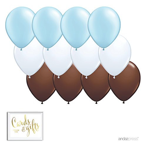 Andaz Press 11-inch Latex Balloon Trio Party Kit