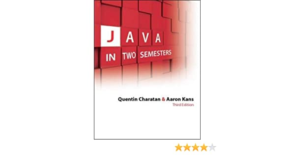 java in two semesters pdf free download