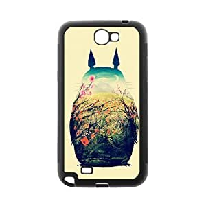 Super Custom Hand Painted Animal Cartoon Series Totoro Design PC and TPU Phone Case Cover Laser Technology for SamSung Galaxy S6