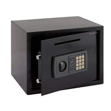 Cassaforte di Massima Sicurezza Elettrica Digitale in Acciaio 13kg con Fessura Big Home Shop