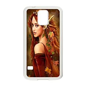 Samsung Galaxy S 5 Case Fairy Girl Drawing White Yearinspace YS365989