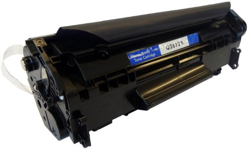 Virtual Outlet ® Compatible HP Q2612X High Yield Black Toner Cartridge (12X) Works with HP LaserJet 1010, LaserJet 1012, Laserjet 1018, Laserjet 1020, Laserjet 1022, Laserjet 1022n, Laserjet 1022nw, Laserjet 3015, Laserjet 3020, Laserjet 3030, Laserjet 3