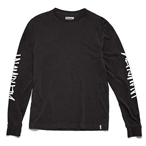 Tee Altamont (ALTAMONT One Liner (Black) Long Sleeve T-Shirt-Medium)