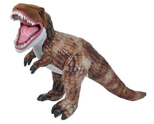 (Wild Republic, T-Rex Plush, Stuffed Animal, Plush Toy, Gifts for Kids, Predator, 21 inches)