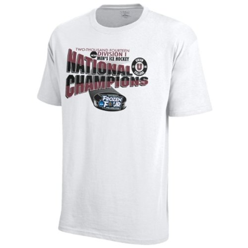 - Union College Dutchmen Locker Room Frozen Four Hockey 2014 Champs T-Shirt (3XL)