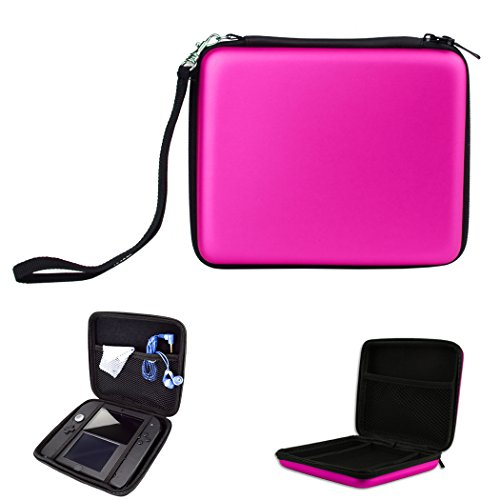 1Pcs Nintendo 2Ds   Pink   Case  Hongfa Replacement Eva Waterproof Travel Carrying Protective Hard Case For Nintendo 2Ds