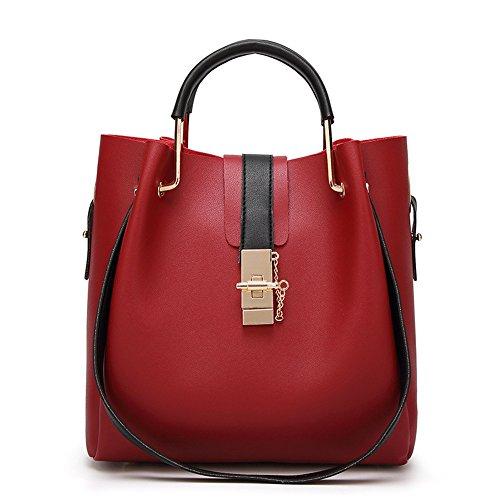 a Nuova La tracolla donna della La Gules madre moda da Gwqgz nera borsa design Borsa di borsa Black Sissy dI6Oq