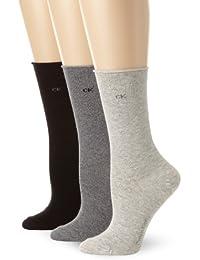 Women's Roll-Top Socks (Pack of Three)