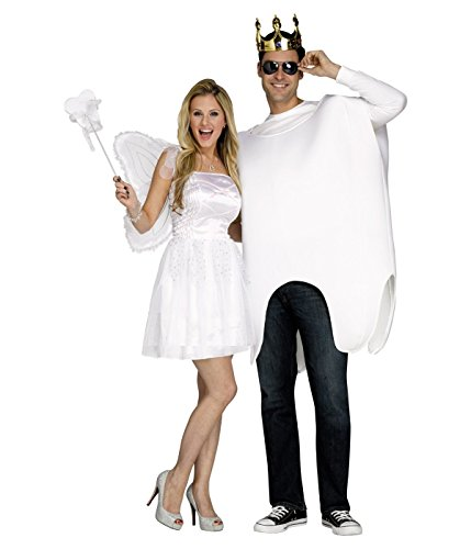 Tooth Fairy and Tooth Costume - One Size - Dress Size 4-14 - Tooth Fairy Adult Costumes