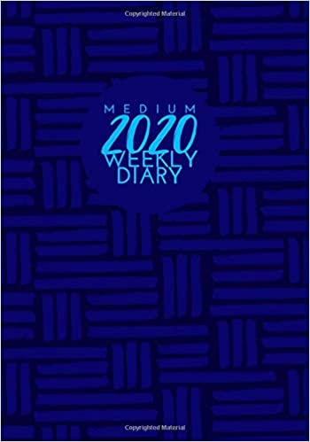 Amazon.com: Medium 2020 Weekly Diary: Ultimate Personal ...