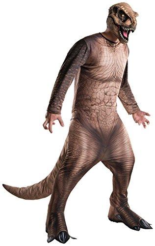 Rubie's Costume Co Men's Jurassic World T-Rex Costume, Multi, Standard - T Rex Jurassic Park Costume