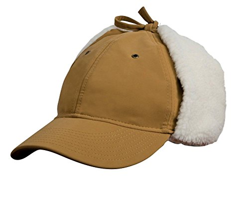 Result Winter Essentials Faux Sheepskin Dog Ear Cap - Tan - M Dog Ear Cap