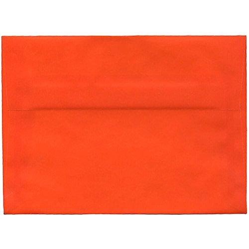 Orange Vellum (JAM Paper A7 Envelopes - 5 1/4